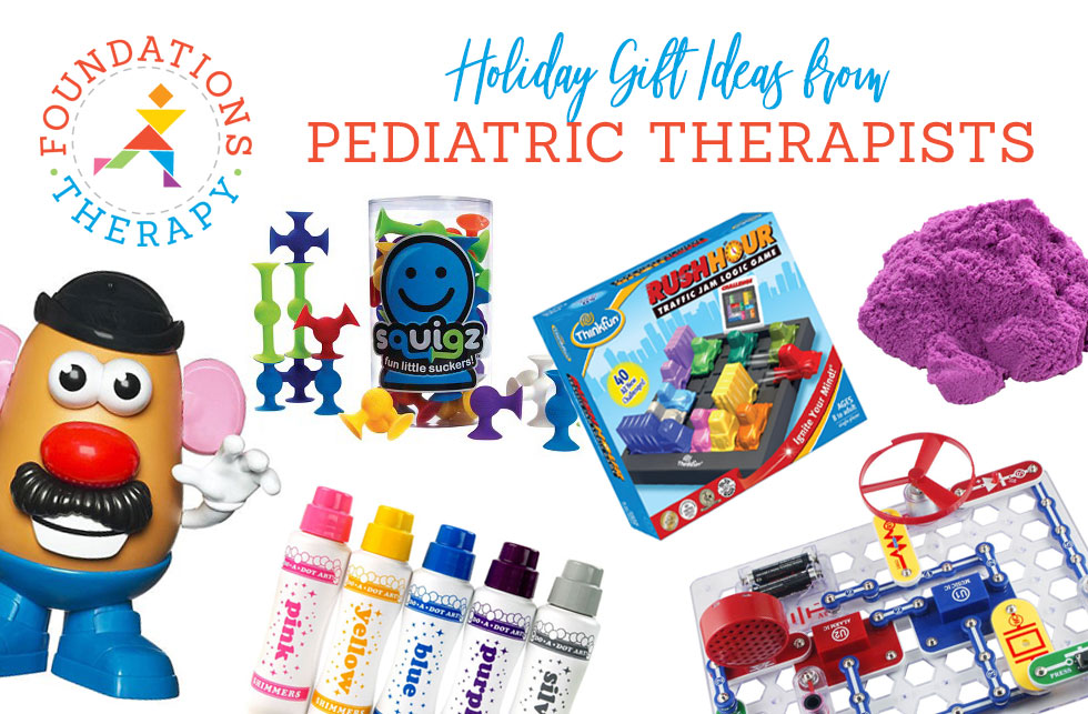 Christmas Gift Ideas from Pediatric Therapists